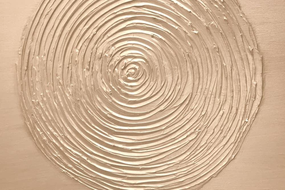 Spirale weiß